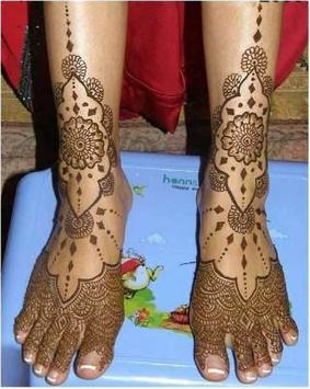 Legs Mehandi Design (Feet Henna Design) screenshot 4