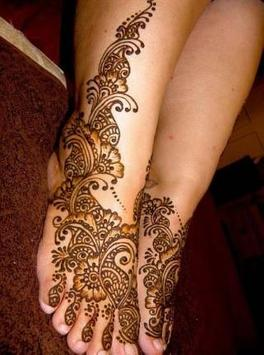 Legs Mehandi Design (Feet Henna Design) screenshot 1