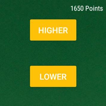 Wear HigherLower screenshot 2