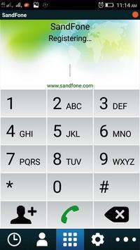 Sandfone Dialer screenshot 2