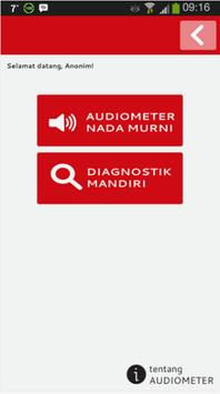 Audiometer for Android screenshot 2