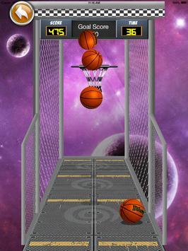 Flicka Ball Basketball apk screenshot