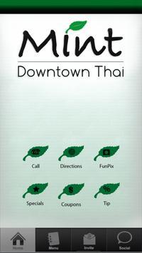 Mint Thai poster