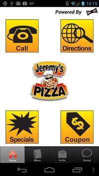 Jeremy's Pizza poster