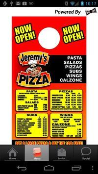Jeremy's Pizza apk screenshot