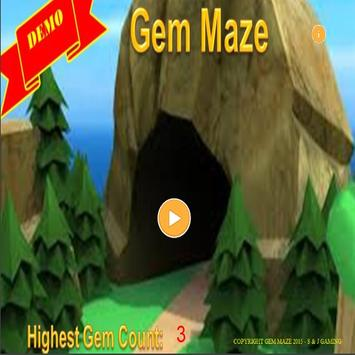 Gem Maze Demo apk screenshot