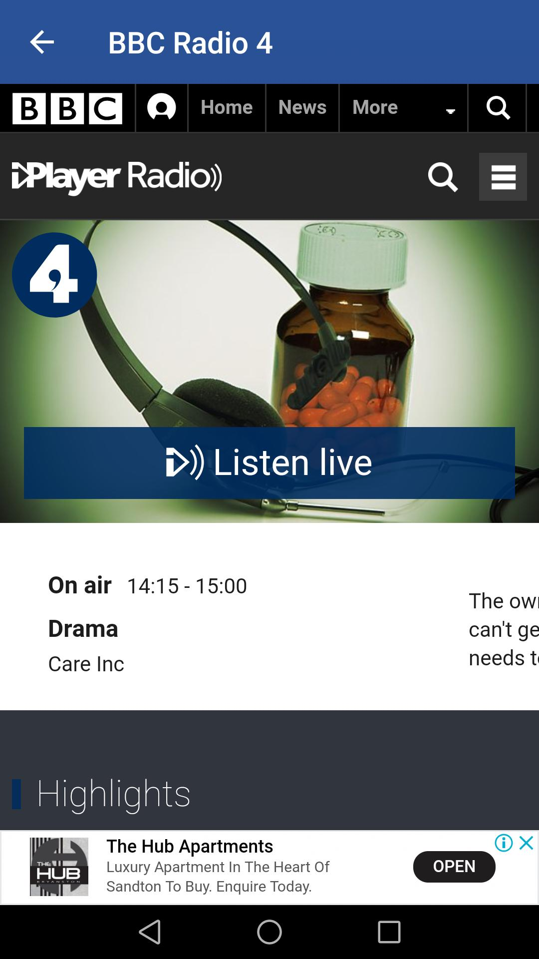 📻 BBC Radio 4 App - BBC iPlayer Radio for Android - APK
