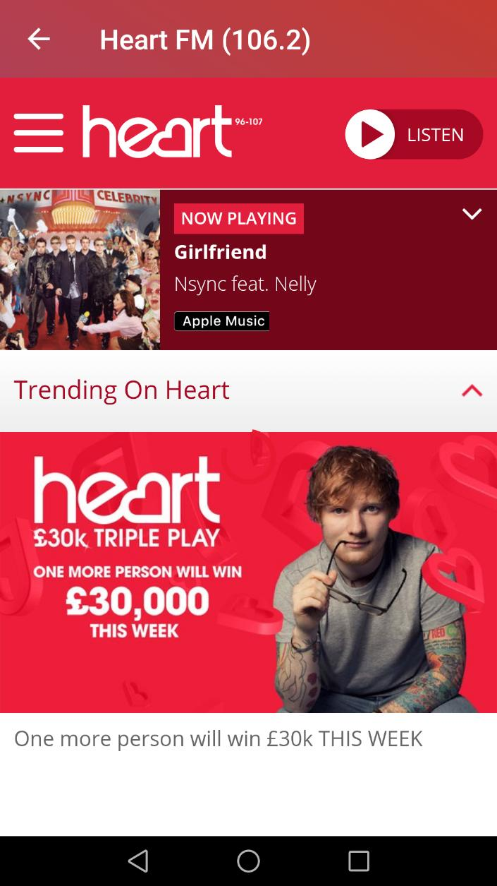 Heart FM London App for Android - APK Download