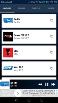 📻 SA FM App - SA FM Radio South Africa screenshot 1
