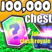 100K Chest for Clash Royale icon