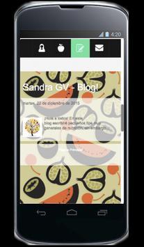Nutriologa Sandra GV apk screenshot