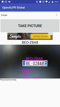 ALPR Global, LPR, License Plate Recognize screenshot 1