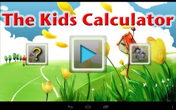 The Kids Calculator Lite poster