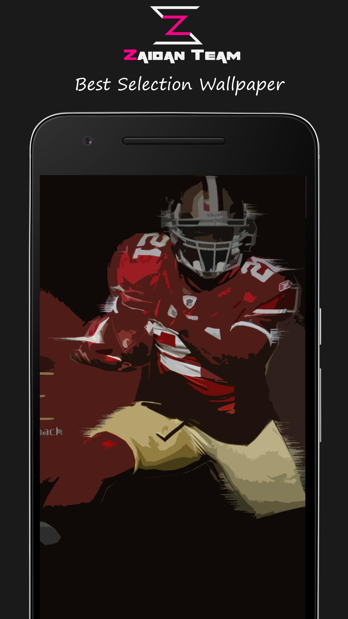 New San Francisco 49ers Wallpaper Art Hd Zaidan For Android