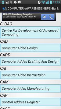 Computer Awareness IBPS-PO-SSC screenshot 6