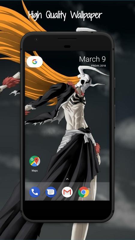 Bleach Wallpaper HD poster Bleach Wallpaper HD apk screenshot ...