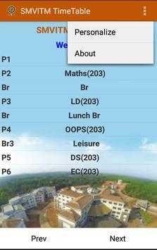 SMVITM Timetable screenshot 4