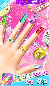 My Nails Manicure Spa Salon - Girls Fashion Game poster