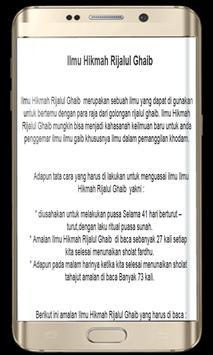 Ilmu Rijalul Ghaib poster