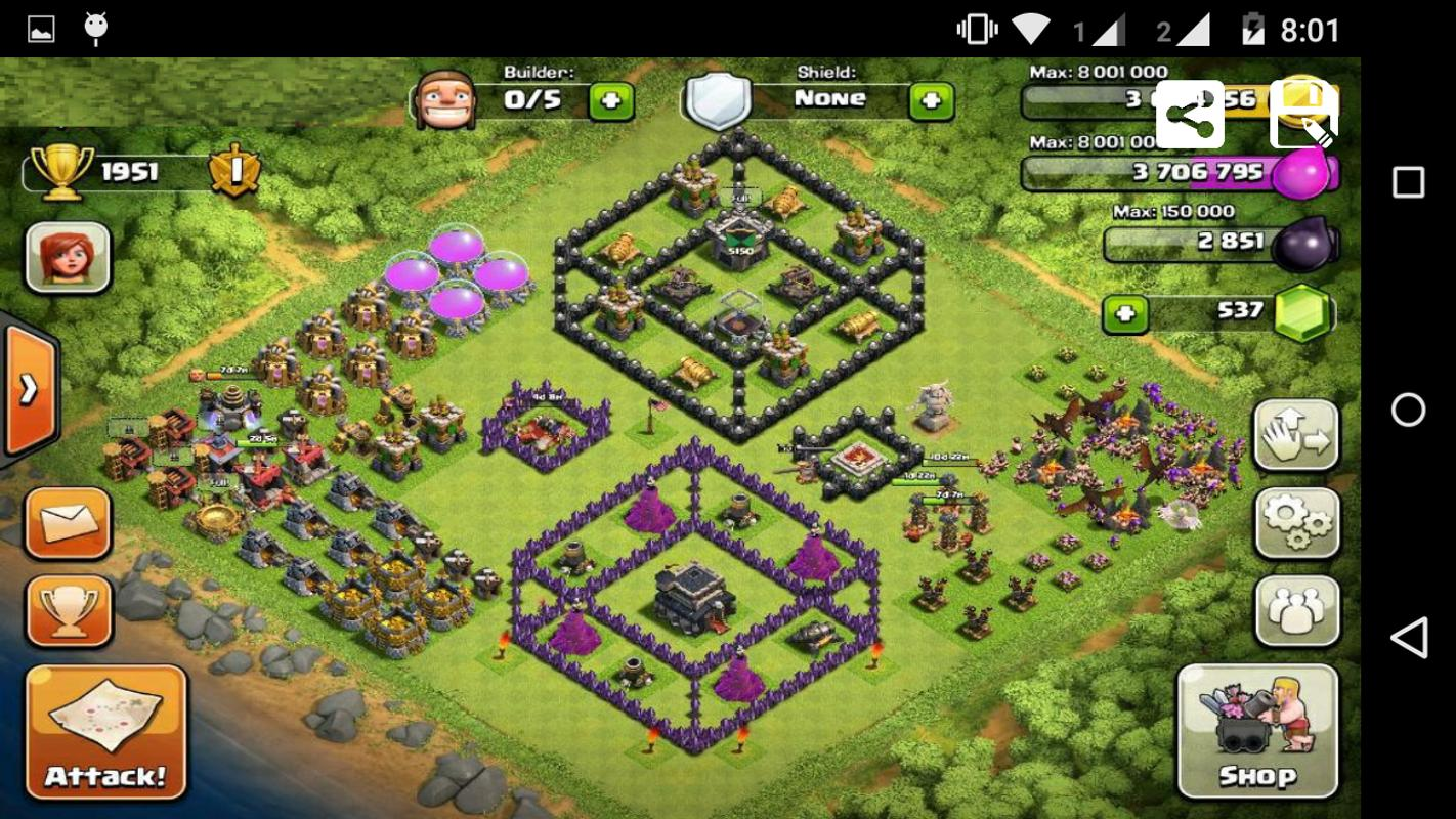 download clash of clans apk 1 mb