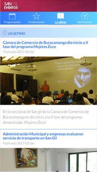 San Gil Eventos apk screenshot