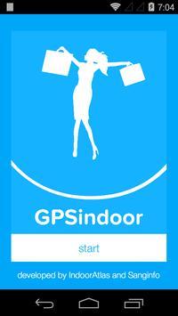 GPSindoor الملصق