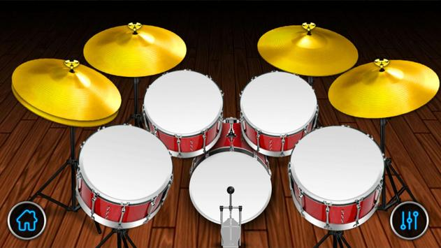 Drum Set - Rock poster