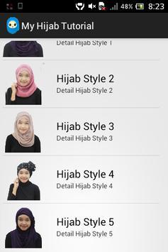 My Hijab Tutorial poster