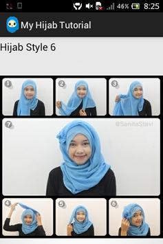 My Hijab Tutorial apk screenshot