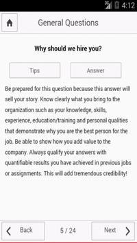 HR Interview Questions screenshot 2