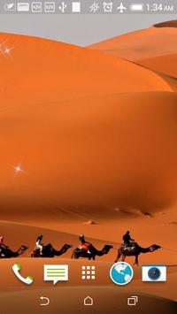 Sahara Caravan Live Wallpaper apk screenshot