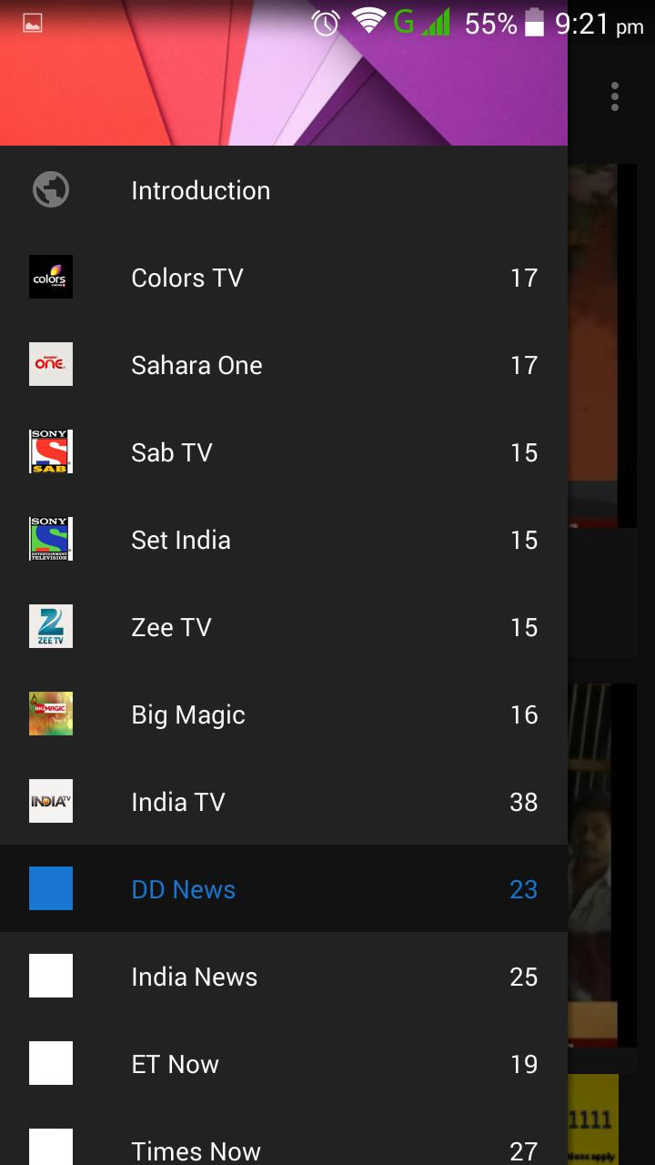 All Hindi Live TV Shows HD for Android - APK Download