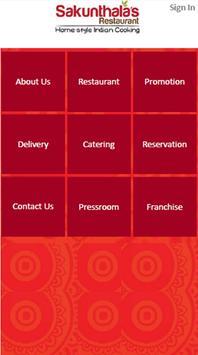 Sakunthala's Food Palace apk screenshot