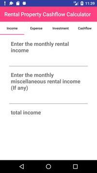 Rental Cashflow Calculator poster