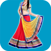 Lehenga and Half Saree Designs icon