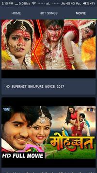 Hot Bhojpuri Songs & Movies screenshot 1