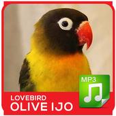 Lovebird Olive Hijau Mp3 icon