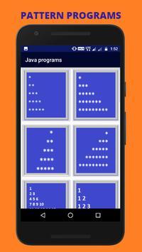 JAVA BOOK -  JAVA PROGRAMS apk screenshot