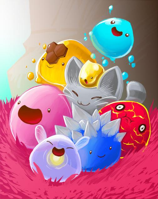 slime rancher new wallpapers fur