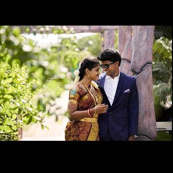 Nandini Kavin Wedding Album poster