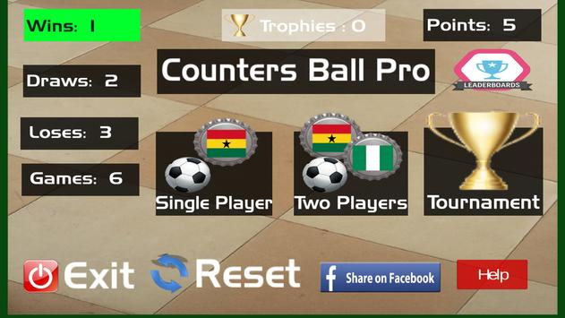 Counters Ball Pro poster