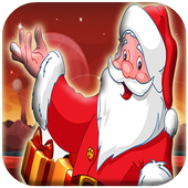 Motobike game : Santa claus icon