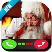 Video Call From Santa Claus Live 🎅 Christmas icon
