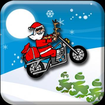 Santa Bike Hill ClimbVillage apk screenshot