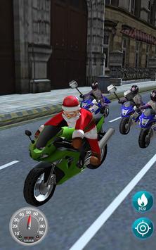 Santa bike Rush screenshot 4