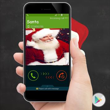 Call from Santa Claus Prank poster