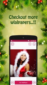 Santa Hot & Sexy Cristmas Girl Live Wallpaper apk screenshot