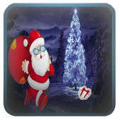 Christmas Santa Running icon