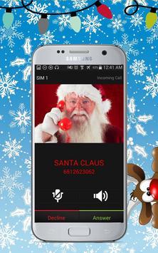 Santa Claus Calling - Prank apk screenshot