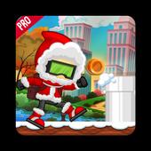 Sky Santa Running 🍀🍀🍀 icon